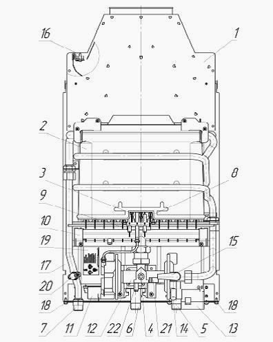 Теплообменник для газовая колонка нева люкс 5514 Кожухотрубный конденсатор Alfa Laval ACFL 450/522 Дербент